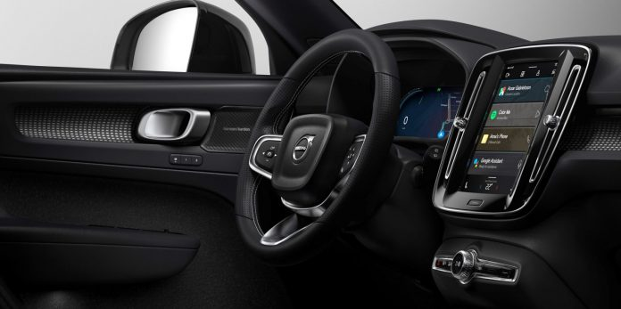 The upcoming fully electric Volvo Volvo XC40 will be powered by Android