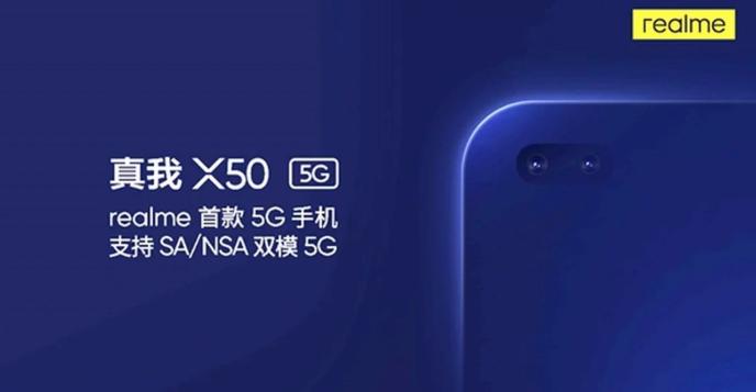 Realme X50 5G to sport dual selfie camera.