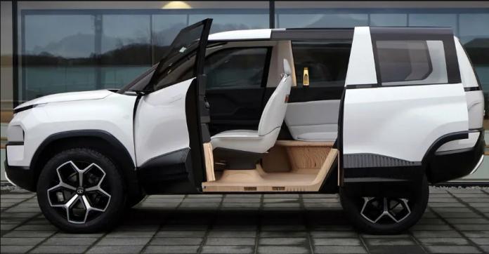 Tata Sierra Concept Car - First look