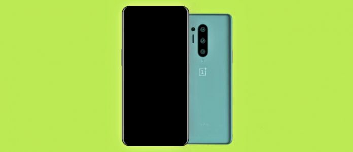 OnePlus 8 pro shows triple camera setup and AMOLED Display.