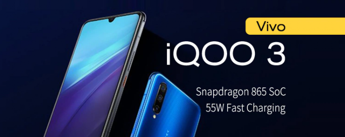 Vivo iQoo 3, now available in India. A 5G phone with powerful specs.