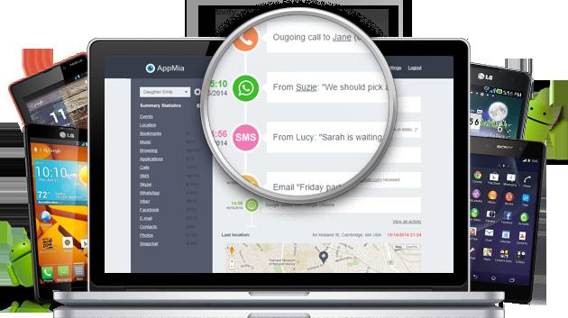 SpyHuman - Android Monitoring App.