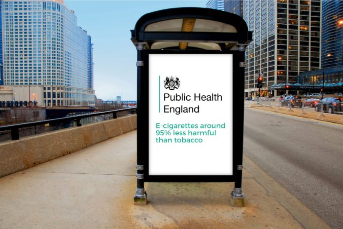Public Health Organization Vaping Less Harmful Than Smoking.