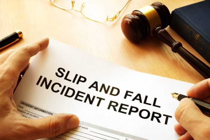 How much is slip and fall case worth.