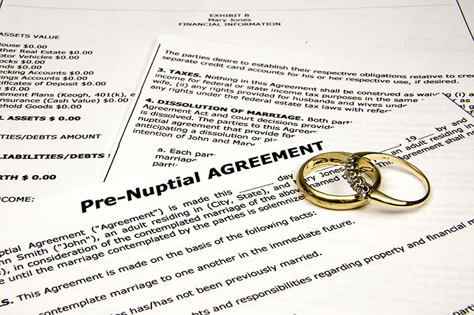 Prenupital Agreement