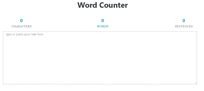 Word-Counter-Tool