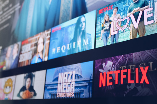 """netflix tv"" (CC BY 2.0) by stockcatalog"