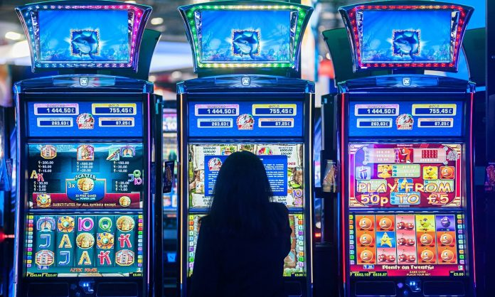 different type of slot games